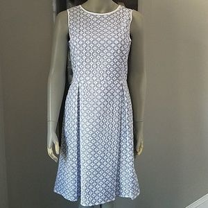 Brooks Brothers Striped Eyelet Dress A-line NWT